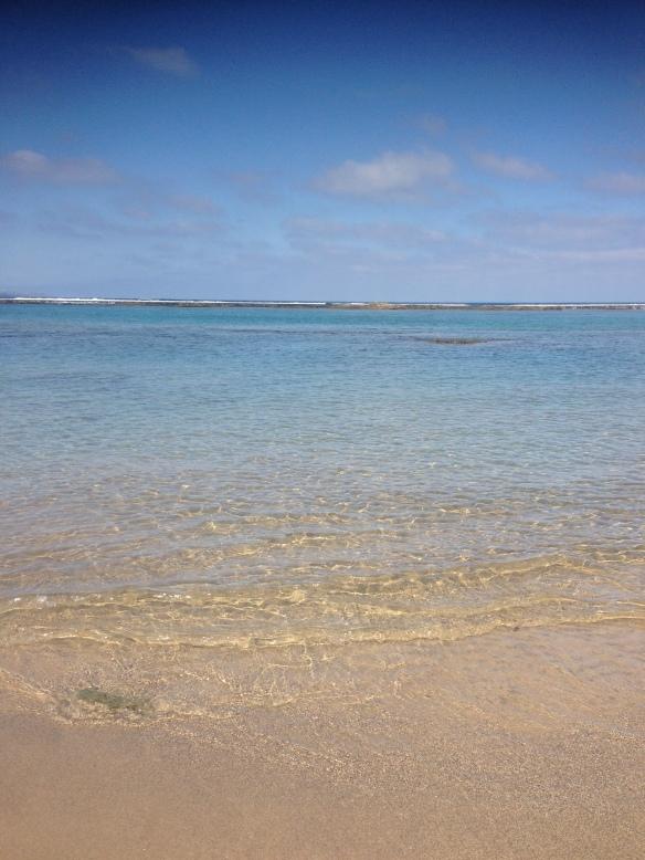Wasser am Playa Las Canteras